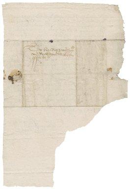 Letter from John Gosling [i.e. Gostling] to Nathaniel Bacon