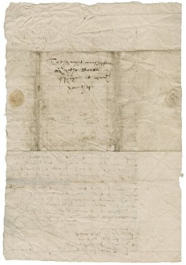 Letter from John Greene, vicar of Hemsby to Nathaniel Bacon