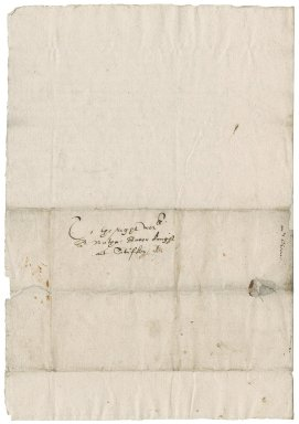 Letter from John Greene to Nathaniel Bacon
