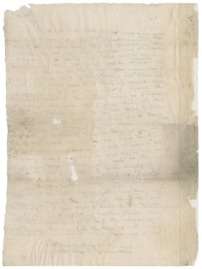 Letter from Robert Hall to [Nathaniel Bacon?]