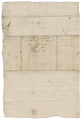 Letter from Robert Hall to Nathaniel Bacon
