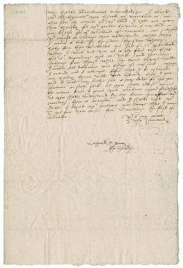 Letter from John Hammond to Nathaniel Bacon