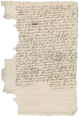 Letter from Thomas Hawtayn to Nathaniel Bacon