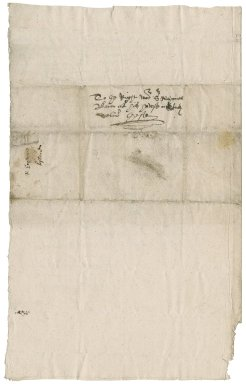 Letter from Robert Hayward to Nathaniel Bacon