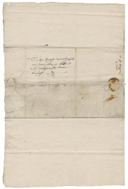 Letter from Sir John Heigham to Nathaniel Bacon