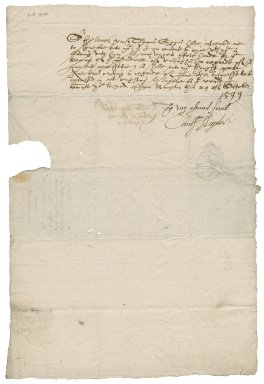Letter from Sir Christopher Heydon to Nathaniel Bacon