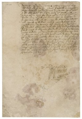 Letter from William Hornby to Nathaniel Bacon