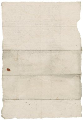 Letter from Nichols Haward to [Nathaniel Bacon]