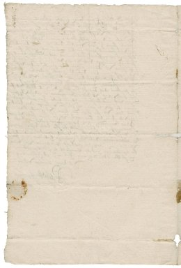 Letter from Rachel Hopton to Nathaniel Bacon