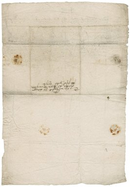 Letter from Henry Jackman to Roger Townshend (1543?-1590)
