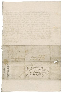 Letter from George Jackson to Nathaniel Bacon
