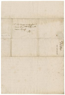 Letter from Sir Robert Jermyn to Nathaniel Bacon