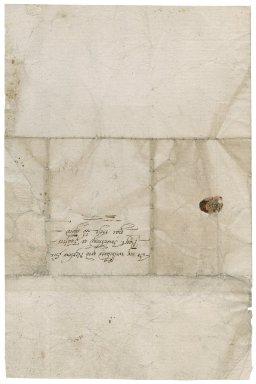 Letter from Elizabeth Knyvett to Roger Townshend, 1st bart.