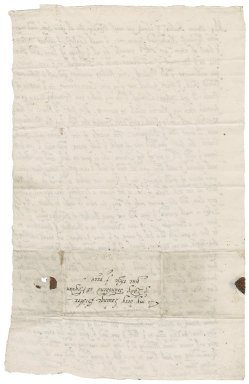 Letter from Elizabeth Knyvett to Lady Anne (Bacon) Townshend