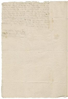 Letter from Thomas Kyston to Edward Walpole