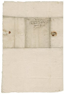 Letter from Thomas Kyston to Edward Walpole