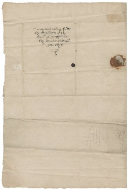 Letter from Thomas Lichfield to Nathaniel Bacon