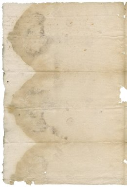 Letter from Henry Man to Nathaniel Bacon