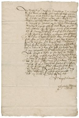 Letter from J[ohn] Maplesden, Archdeacon of Suffolk to Nathaniel Bacon