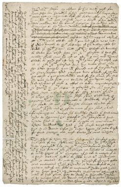 Letter from Richard Mason to William Mason