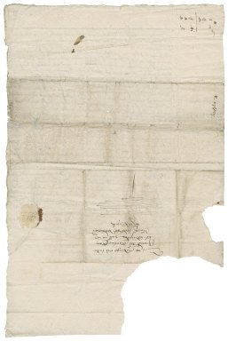 Letter from Robert Mighells to Martin Man
