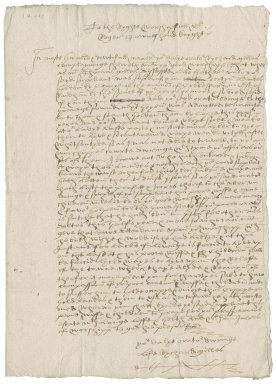 Letter from Richard Milles to Roger Townshend (1543?-1590)?