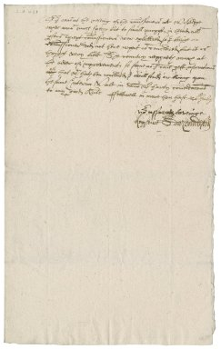 Letter from Edward Mounford [i.e. Moundeford] to Nathaniel Bacon