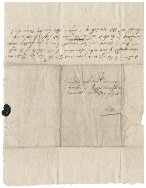 Letter from Peter Murford to Roger Townshend, 1st bart.