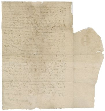 Letter from Sir Henry Neville to [Nathaniel Bacon]