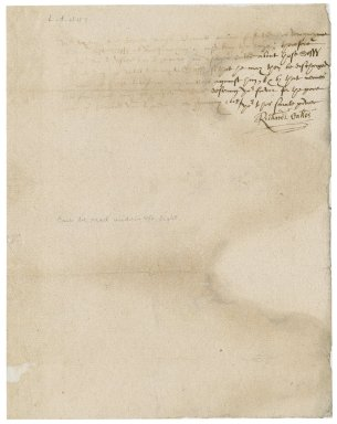 Letter from Richard Oakes to Martin Man