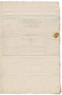 Letter from Augustine Palgrave to Nathaniel Bacon