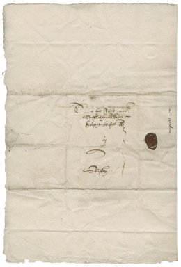 Letter from John Percival to Nathaniel Bacon