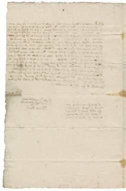 Letter from Thomas Pearce to Lady Bacon