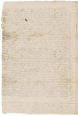 Letter from Ann Penning to Nathaniel Bacon