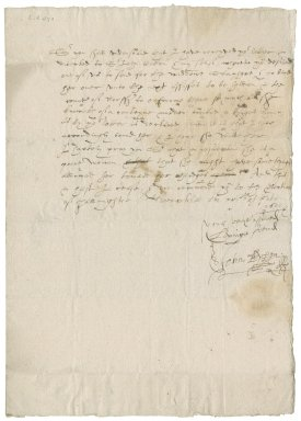 Letter from Sir John Peyton to Nathaniel Bacon