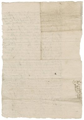 Letter from the Privy Council to Nathaniel Bacon and the other commissioners in the Hubbard piracy case : copy
