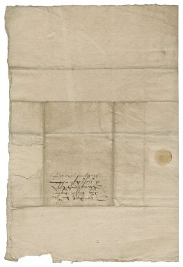 Letter from Townshend, (cousin to Roger Townshend) to Roger Townshend (1543?-1590)
