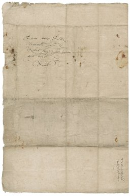 Letter from William Cecil, Lord Burghley, Lord Treasurer, and Sir Walter Mildmay, Chancellor of the Exchequer, to Nathaniel Bacon and Martin Barney
