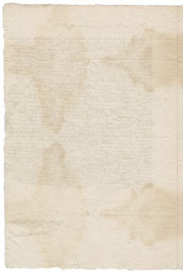 Letter from John Ramsey to Roger Townshend, 1st bart.