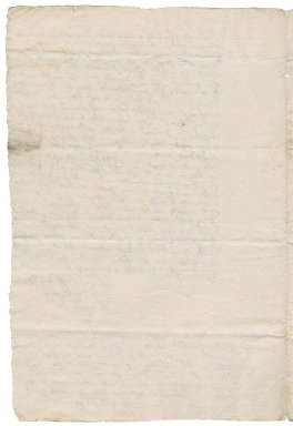 Letter from William Rookwood to Nathaniel Bacon