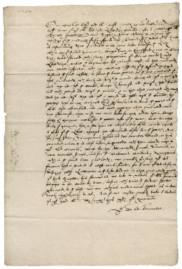 Letter from [William] Rugge and Issac Astley to Sir John Popham, Lord Chief Justice : copy