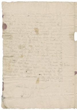 Letter from John Russell, Lord Russell, to Nathaniel Bacon