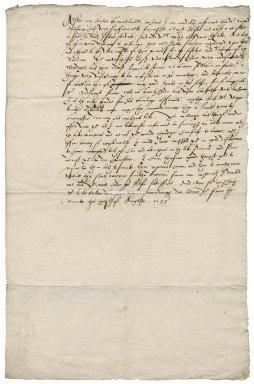 Letter from Thomas Sackville, Earl of Dorset, to Sir Christopher Heydon