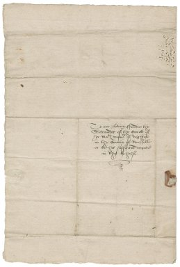 Letter from Sir Ralph Sadleir and John Brograve, Chancellor and attorney of the Chancellor of the Duchy Lancaster to Nathaniel Bacon