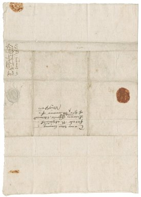 Letter from Sir Ralph Sadleir Chancellor of the Duchy of Lancaster, to Nathaniel Bacon