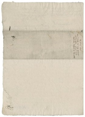 Letter from Robert Cecil, Earl of Salisbury, to Nathaniel Bacon