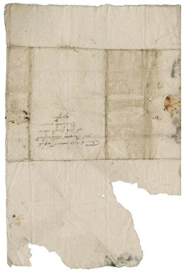 Letter from William Saunders to Roger Townshend (1543?-1590)