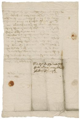 Letter from Robert Sturges to Nathaniel Bacon