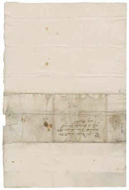 Letter from Henry Smith to Nathaniel Bacon