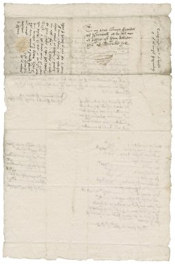 Letter from Henry Smith and John Ducke to Martin Man and Mr. Percival